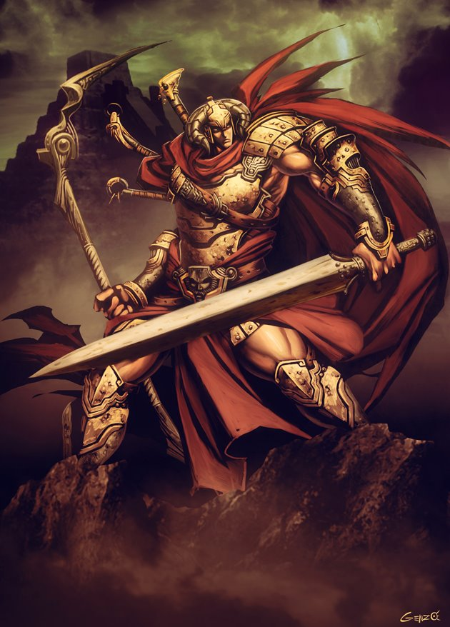Gilgamesh (SUMERIA)(Genzo)