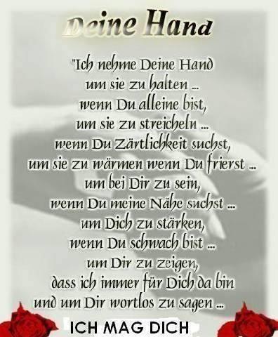 DEINE HAND GESICHT