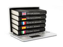 diccionarios-dentro-de-la-pantalla-de-ordenador-porttil-59700285