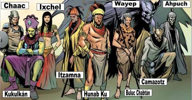 ahau1 mayan gods