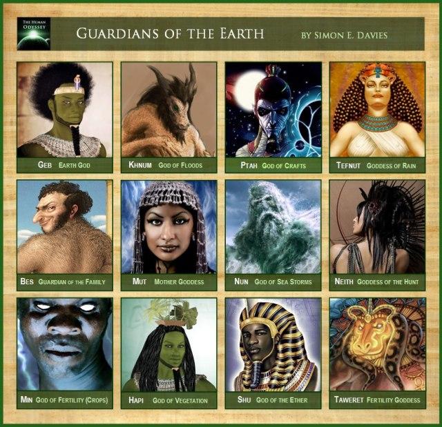 dioses egipcios 1