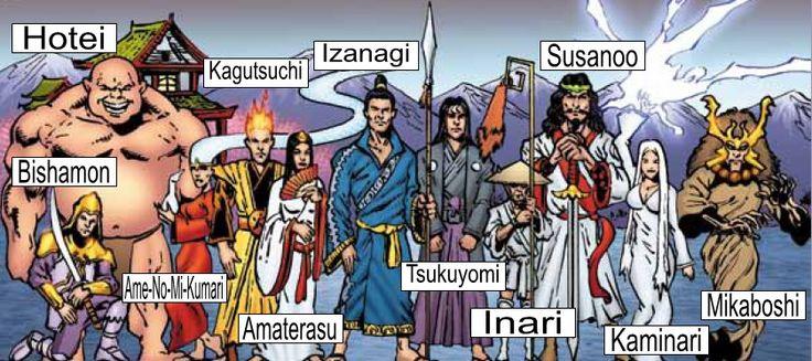 japanish gods