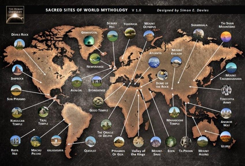 sitios sagrados del mundo
