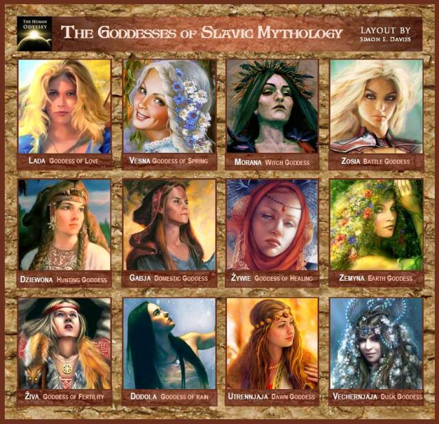 slavic goddesses