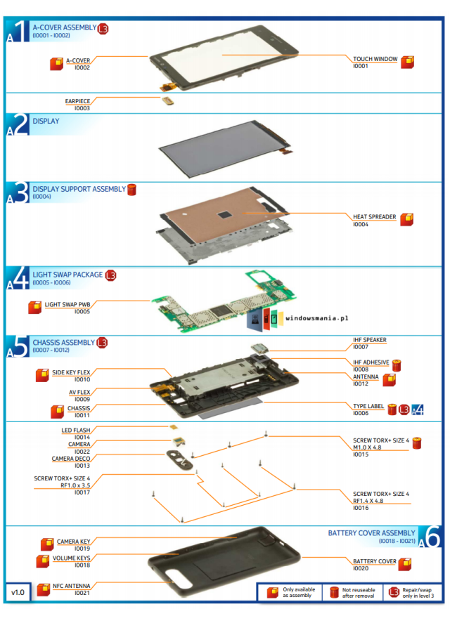 smartphone-parts-2 Lumia-820-diagram