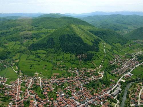las piramides bosnias.