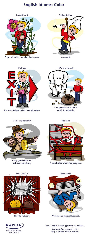 idioms color