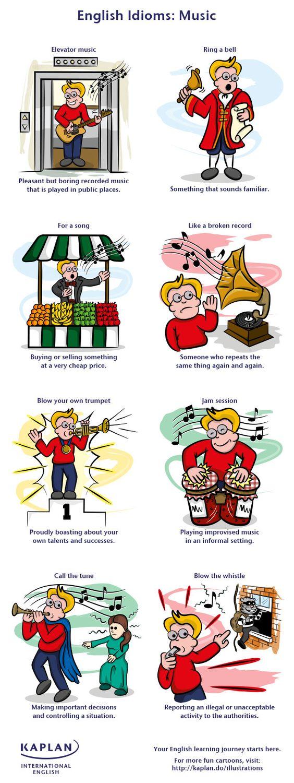 idioms music