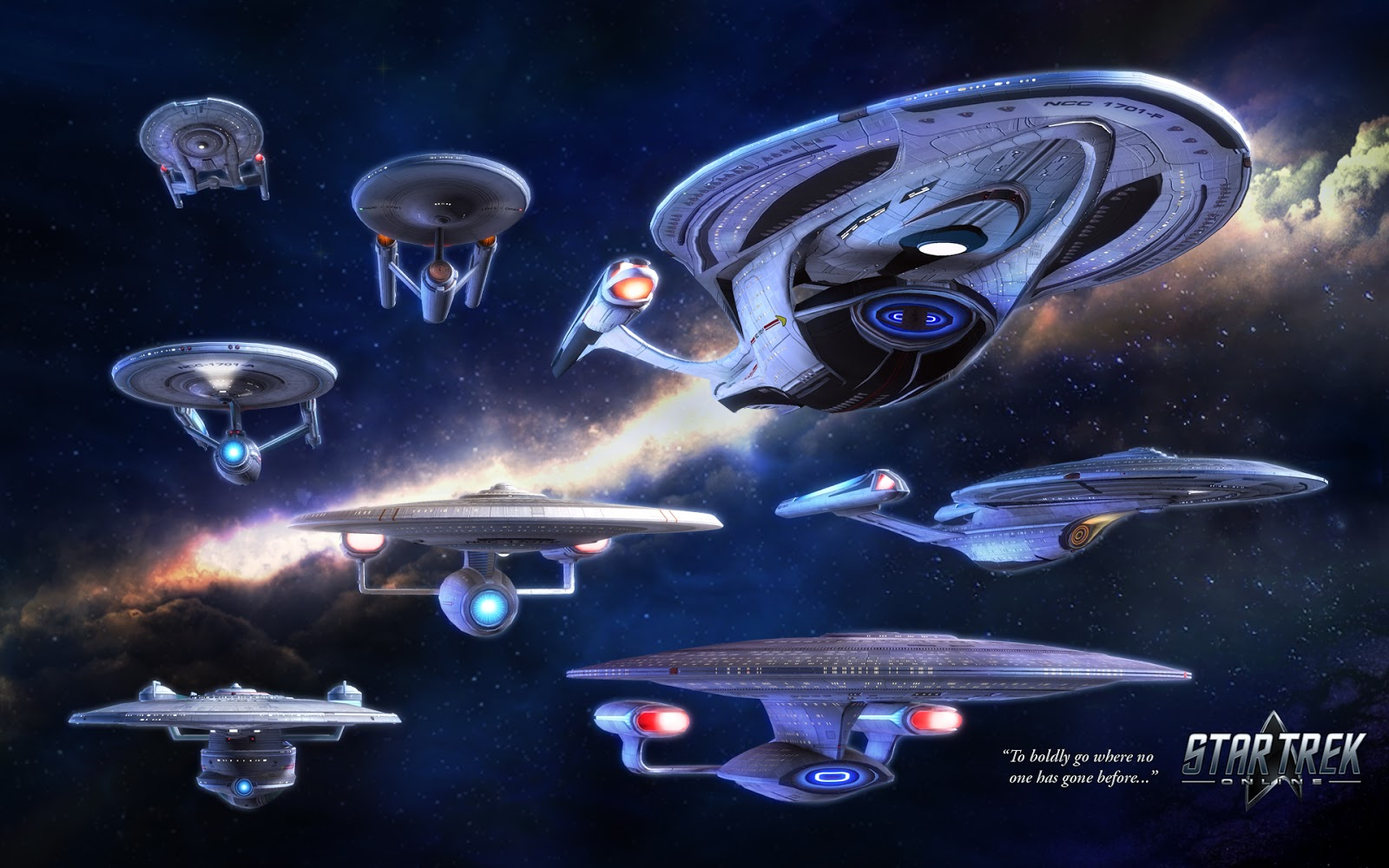 Star Trek Online Enterprises