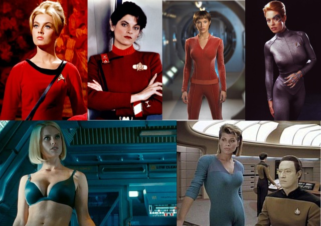 star trek series girls